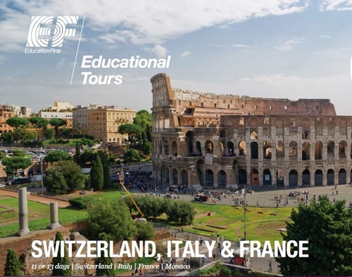 Travel with us to Europe - South Marshall Elementary School